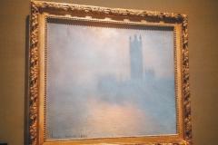 Budynek Parlamentu w Londynie, Claude Monet