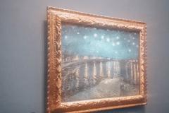 Gwiaździsta noc nad Rodanem, Vincent Van Gogh