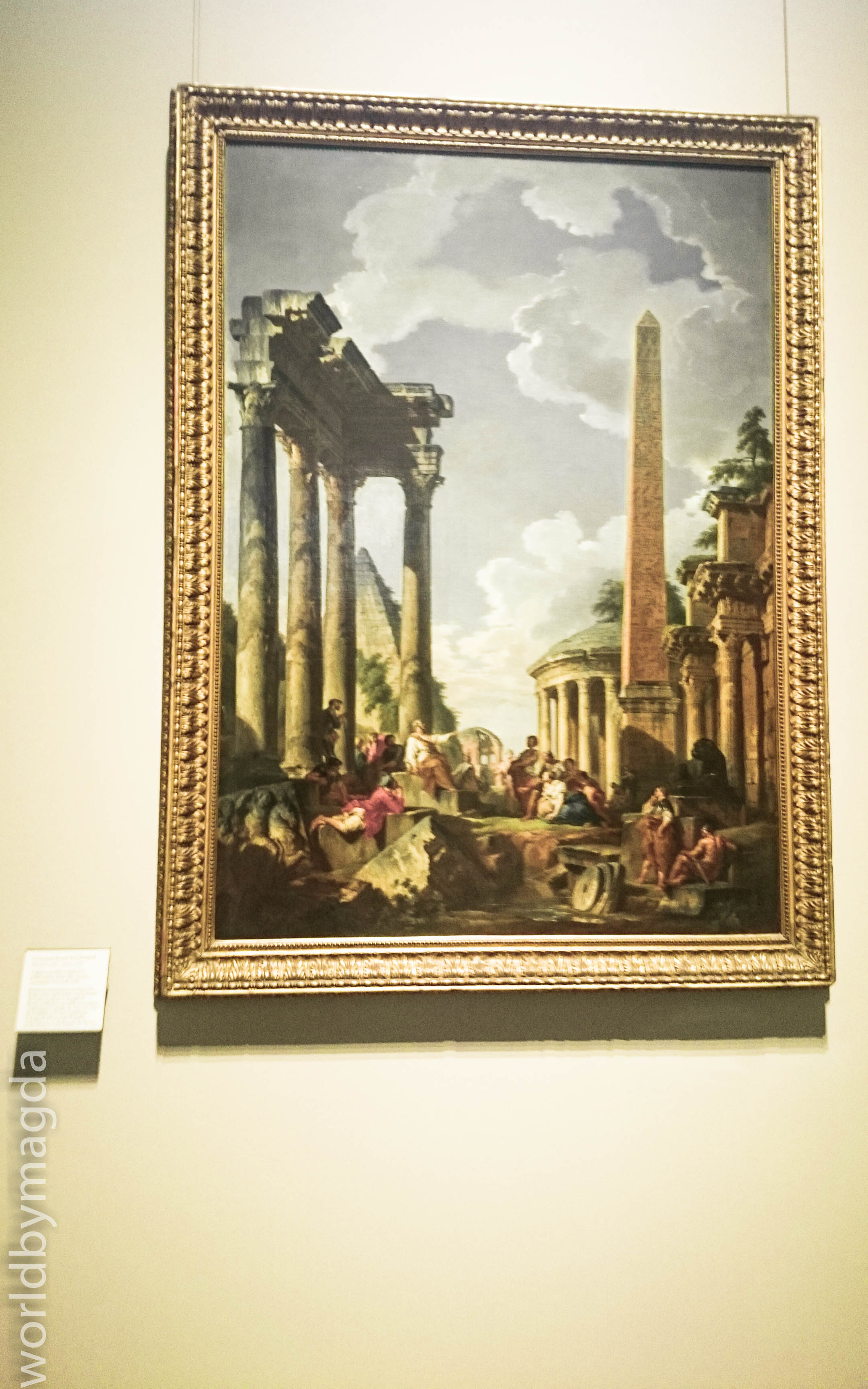 Painting collection in Louvre