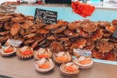 świeże owoce morza, Deauville